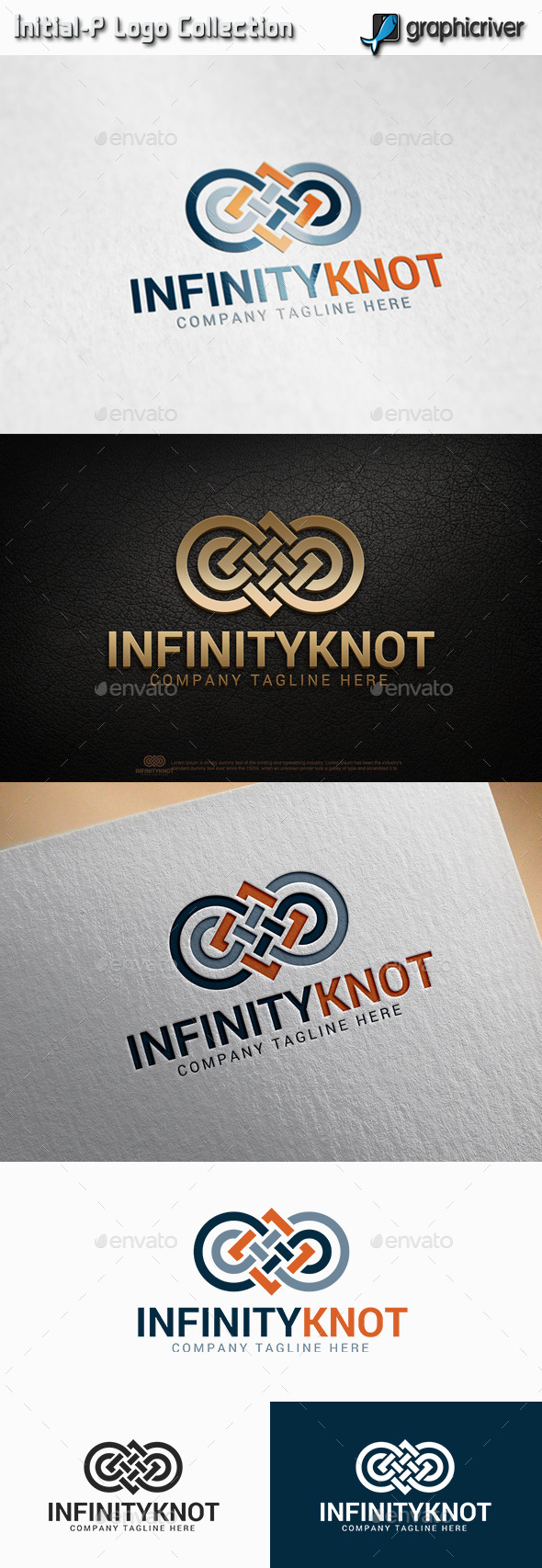 infinity Knot Logo - Abstract Logo Templates
