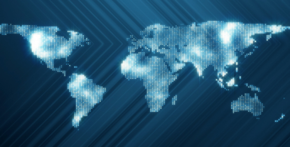 World map square particles by mihaipanait videohive play preview video gumiabroncs Image collections