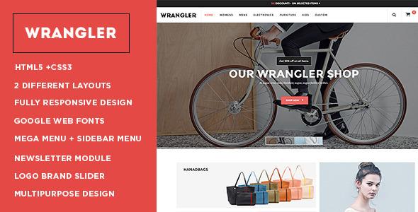 Wrangler - Fashion Store Responsive OpenCart Theme - Shopping OpenCart