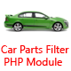 Car Parts Filter Module By JQuery -Year/Make/Model