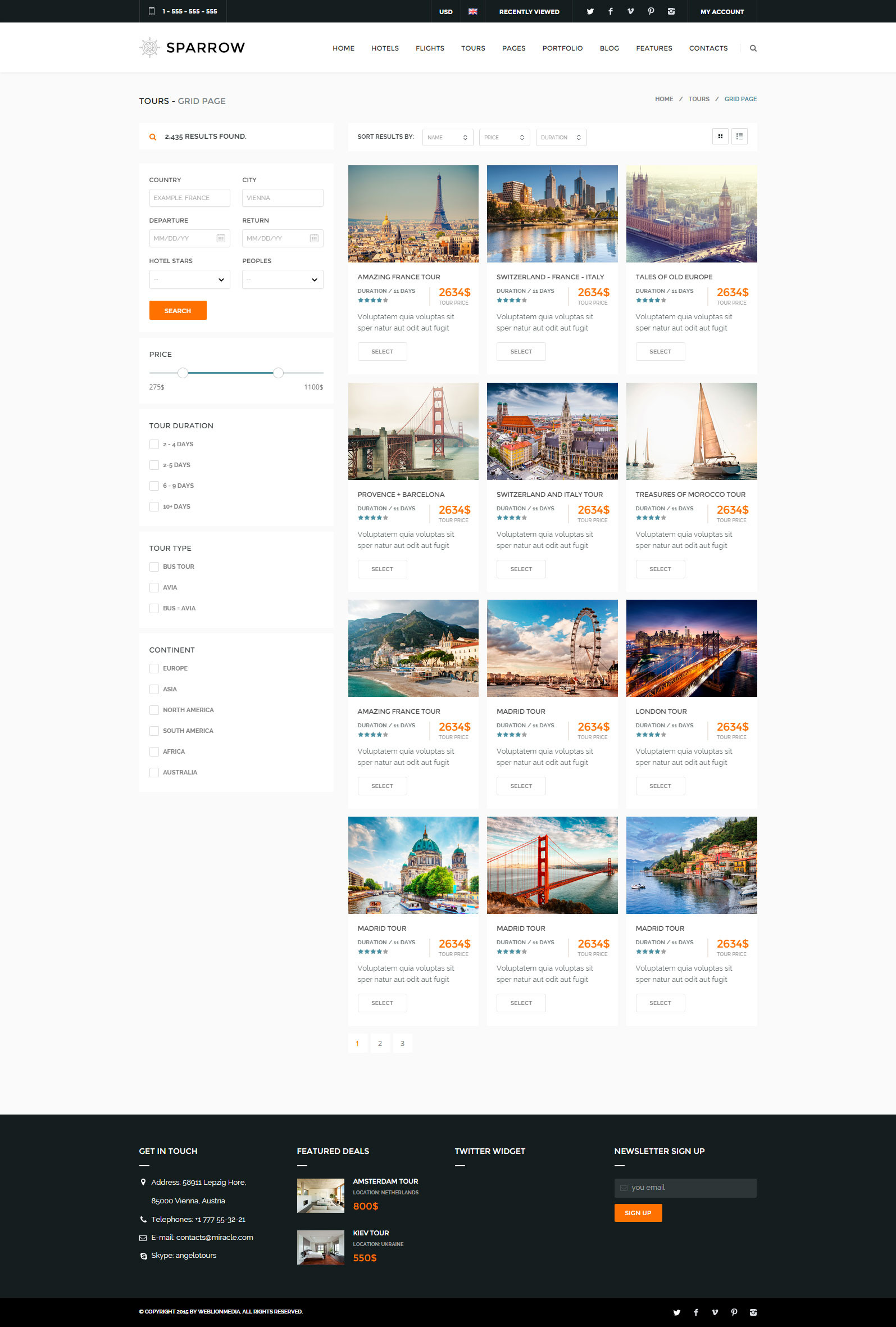 Screenshots 20 Tours Simple Style Jpg 21 Booking Complete Details Page