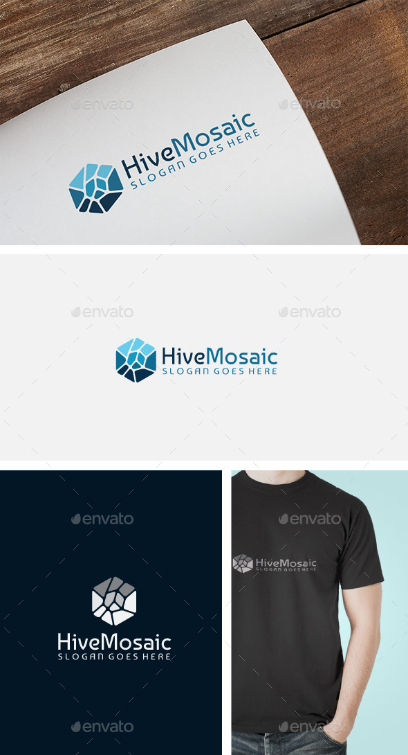Creative Hexagon Logo - Objects Logo Templates