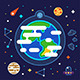 Earth in Space - GraphicRiver Item for Sale