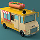 Hot Dog Car - 3DOcean Item for Sale