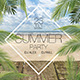 Summer Party Flyer Set - GraphicRiver Item for Sale