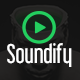 Soundify - Mobile Music App Design - GraphicRiver Item for Sale