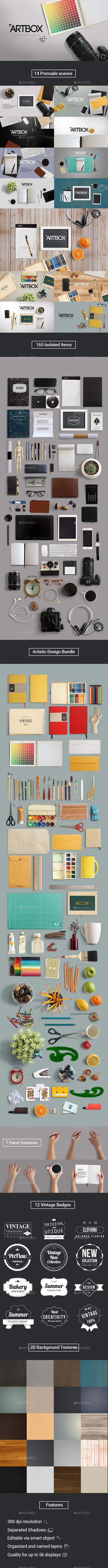 ArtBox Artistic Mockup Kit