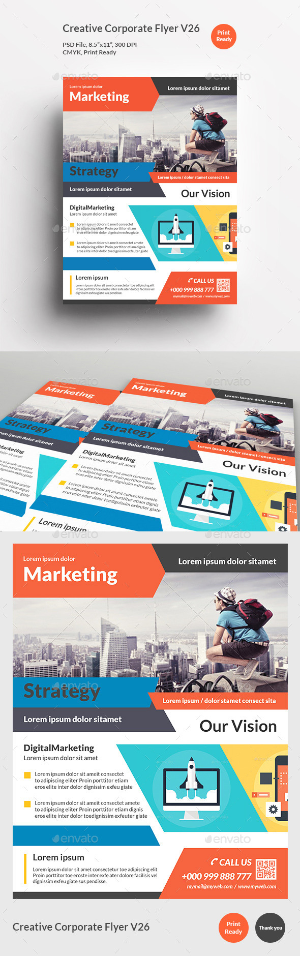 Creative Corporate Flyer V26 - Corporate Flyers