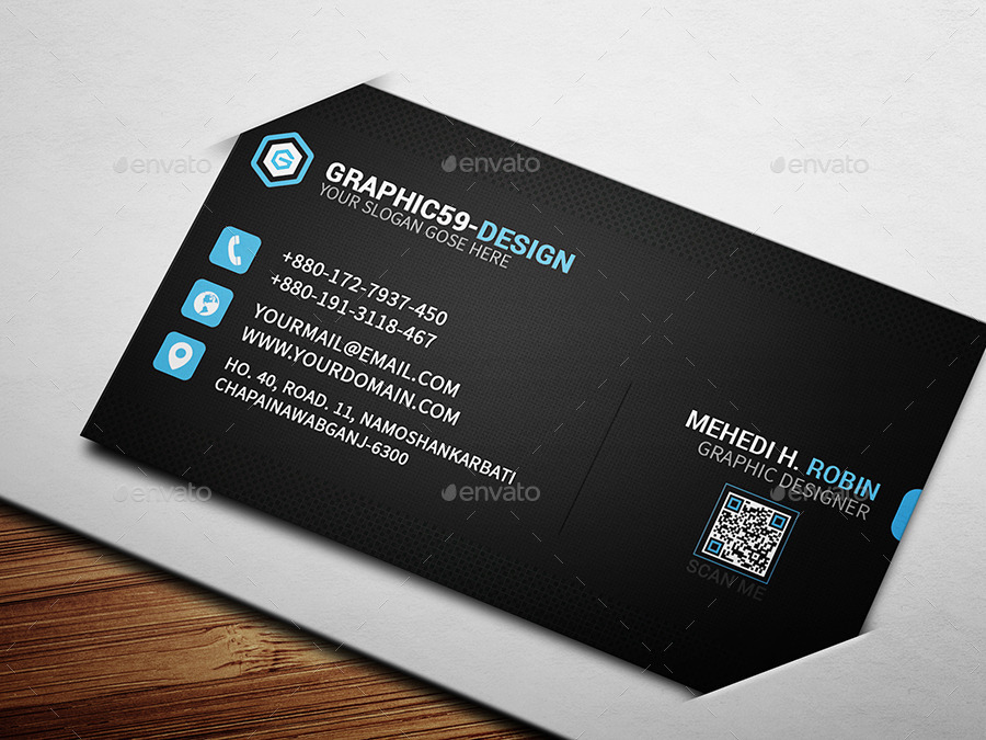 Pixel business card design by graphica59 graphicriver for Business card pixels