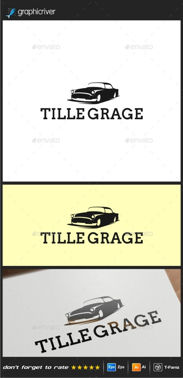 Tille Grage Logo Templates - Objects Logo Templates