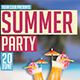 New Summer Party - GraphicRiver Item for Sale