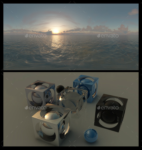 Ocean Dawn 5 - HDRI - 3DOcean Item for Sale