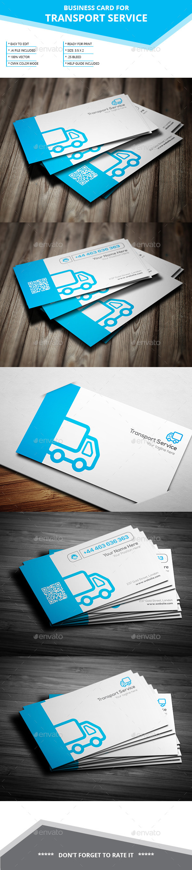 Transport Service Business Card