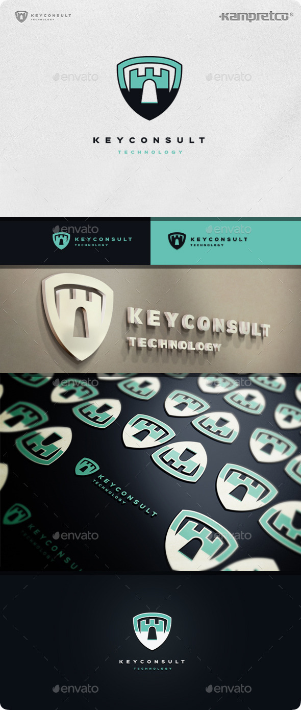 Key Consulting Logo - Vector Abstract