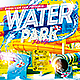 Water Park Flyer PSD - GraphicRiver Item for Sale