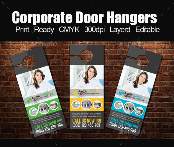Corporate Door Hangers - Miscellaneous Events