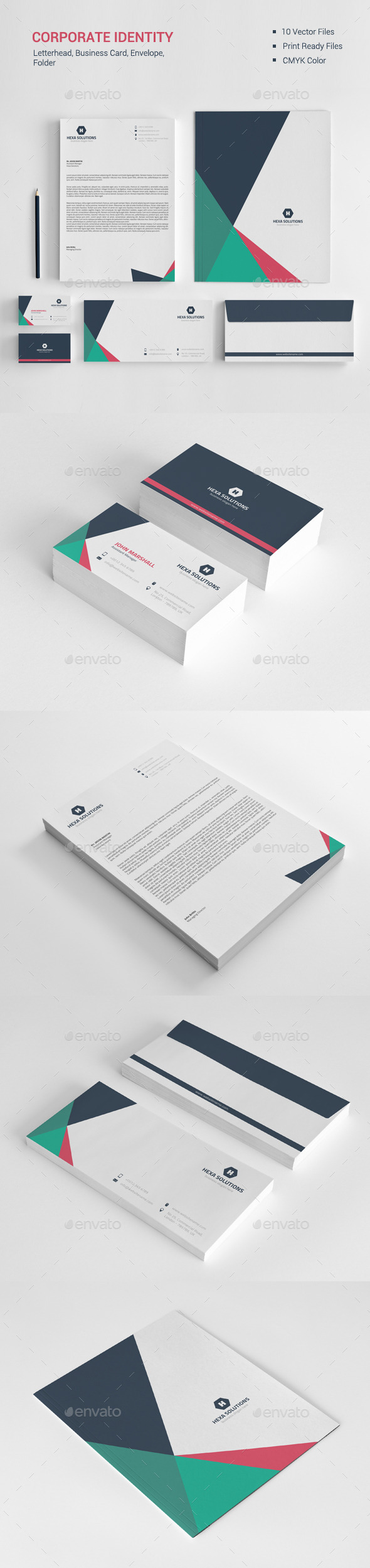 Corporate Identity 04 - Stationery Print Templates