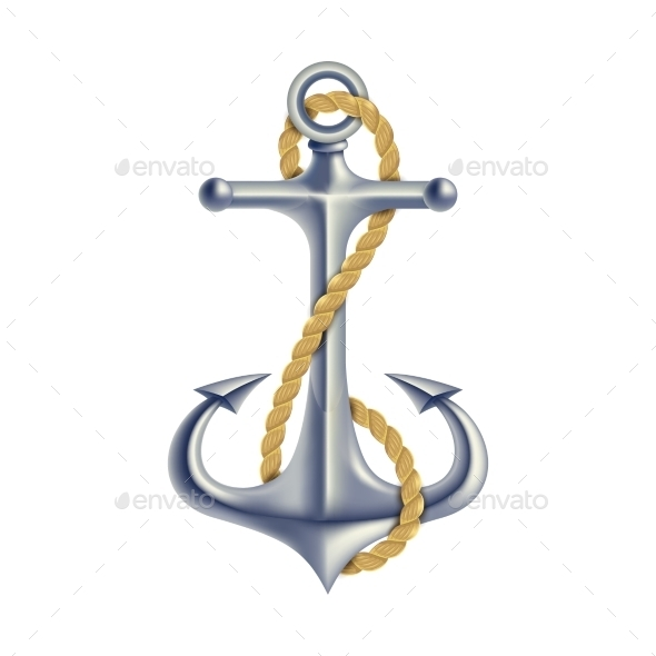 Anchor Color Isolated Object - Man-made Objects Objects