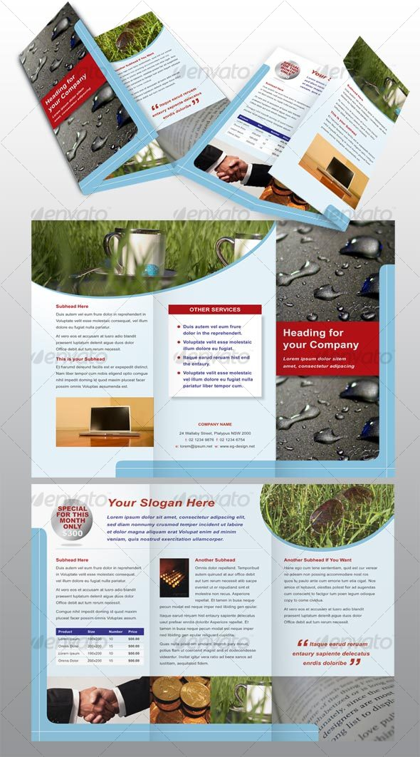 6 page modern brochure by PeterPap | GraphicRiver