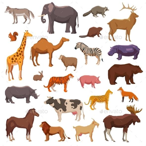 Big Animals Set - Animals Characters