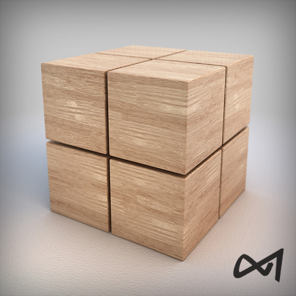 Wood Material 01 - Vray Shader - 6k Pixel Texture - 3DOcean Item for Sale