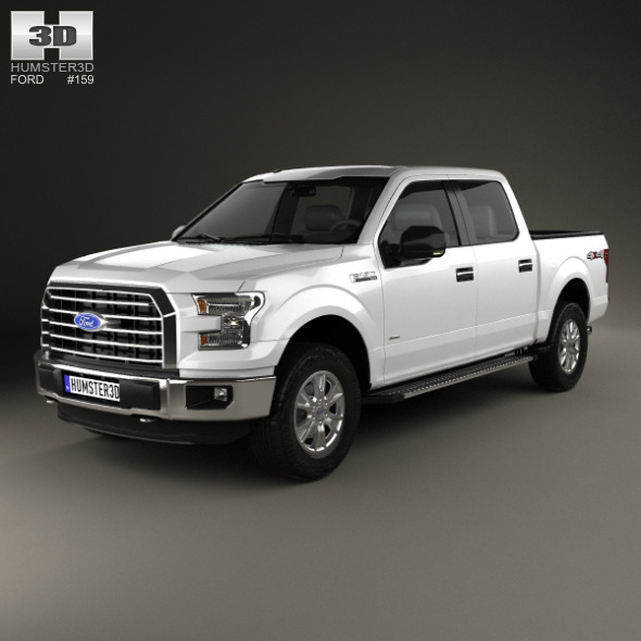 Ford F-150 Super Crew Cab XLT 2014