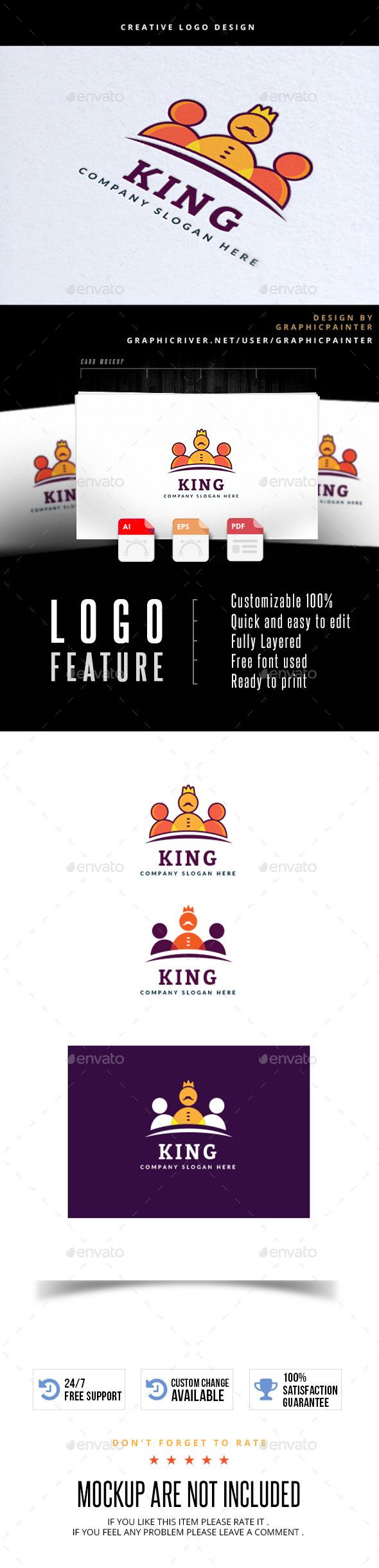King Logo - Logo Templates