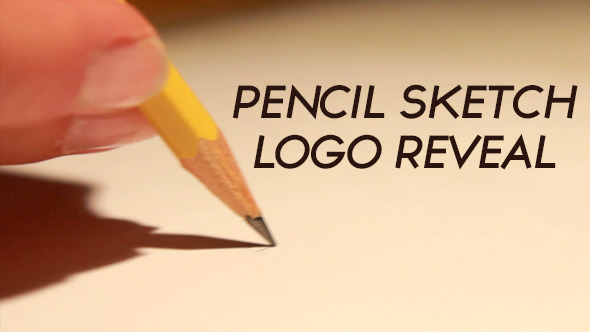Pencil Sketch Logo Reveal