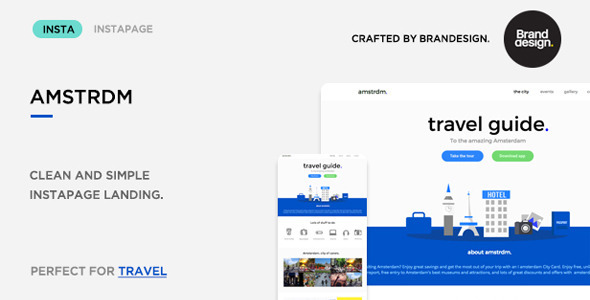 Amsterdam - Instapage Travel Landing Page - Instapage Marketing