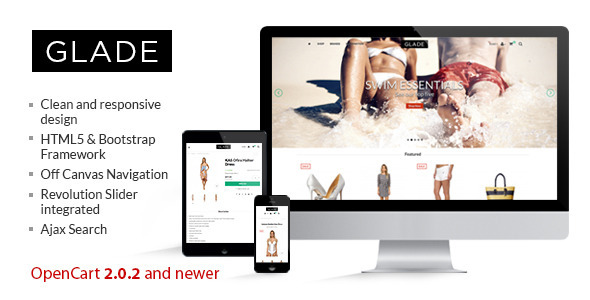 Glade – Responsive OpenCart Theme