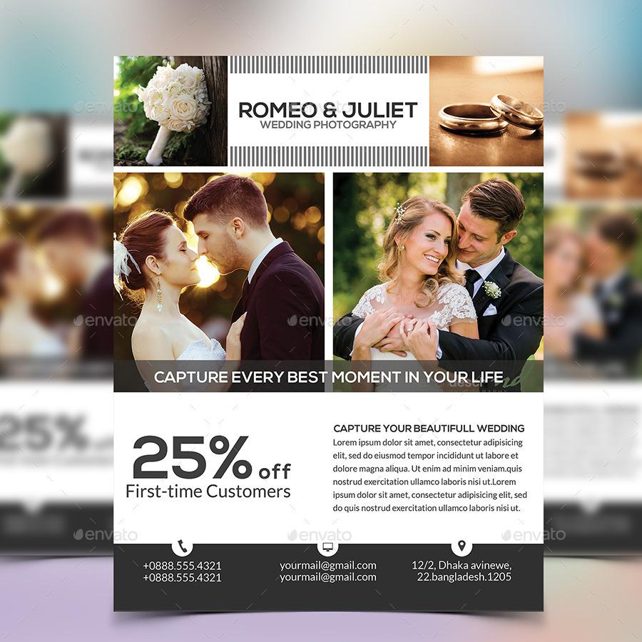 Wedding Photography Flyer By Elite Designer Graphicriver