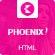 Phoenix HTML5 magazine template - ThemeForest Item for Sale