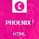 Phoenix HTML5 magazine template Nulled