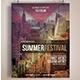 Summer Festival Flyer / Poster - GraphicRiver Item for Sale