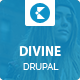 Divine - Professional Business Drupal Theme  Nulled