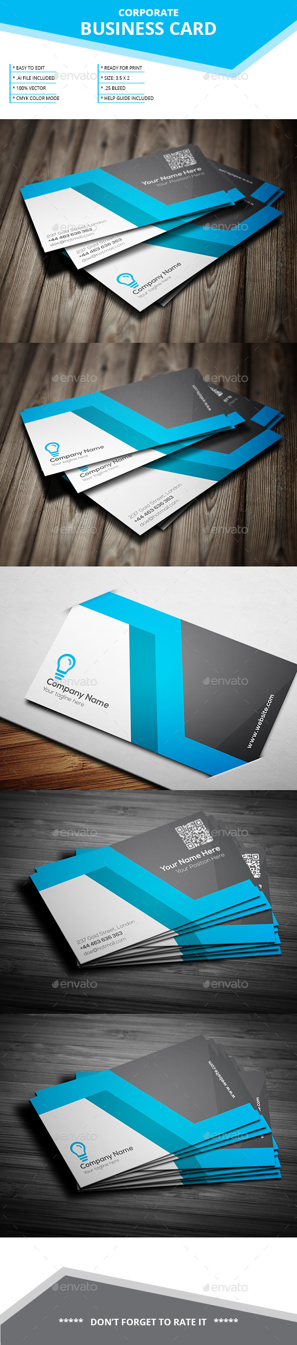 Corporate Business Card Vol-20