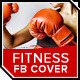 Sport & Fitness Facebook Cover: Kickboxing - GraphicRiver Item for Sale