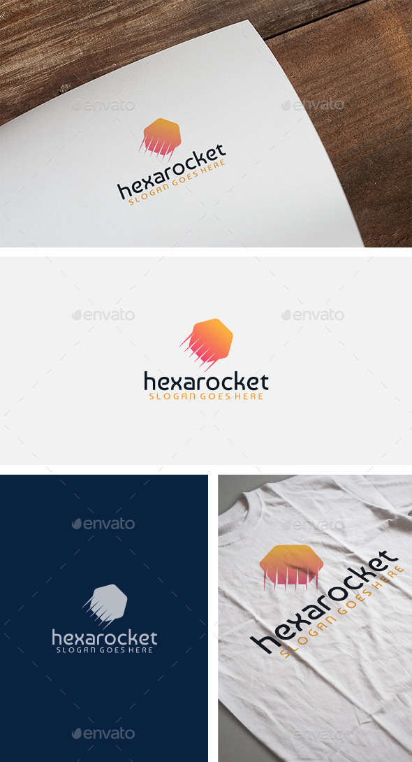 Hexarocket Logo - Objects Logo Templates