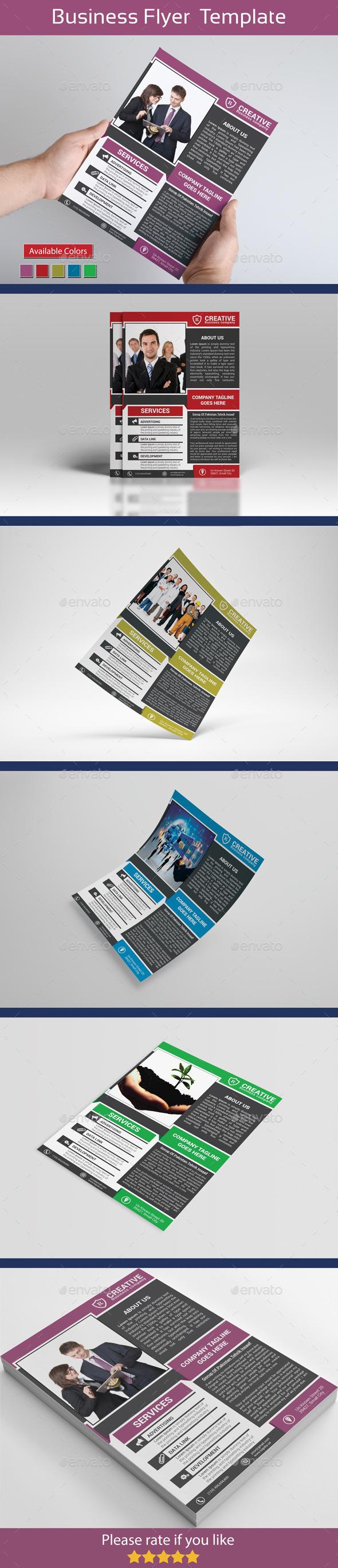 Creative Flyer  Template  - Flyers Print Templates