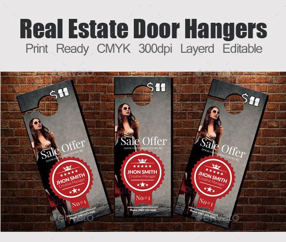 Big Sale Offer Door Hangers - Miscellaneous Events