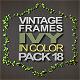 Vintage Ivy Frames Pack - VideoHive Item for Sale