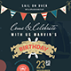 Nautical Birthday Invitation & Postcard - GraphicRiver Item for Sale