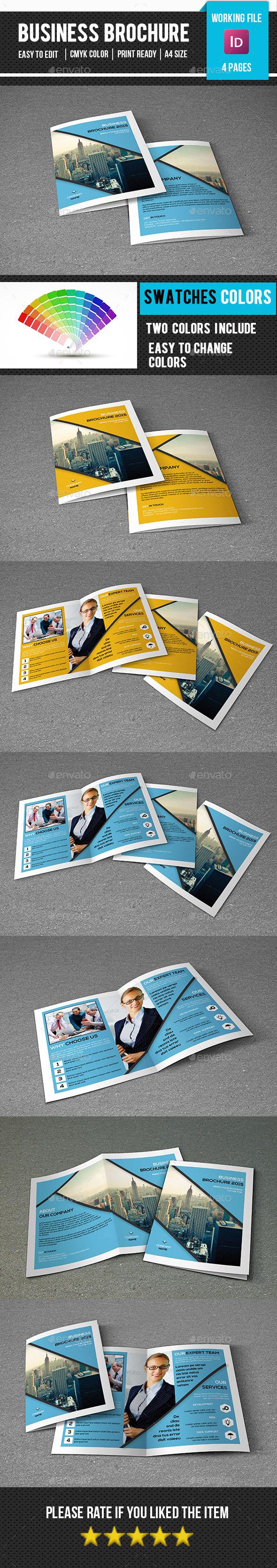Corporate Bifold Brochure-V288 - Corporate Brochures