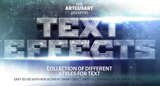 Text Effect Collections
