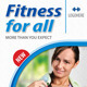 Fitness Program Rollup Banner 64 - GraphicRiver Item for Sale