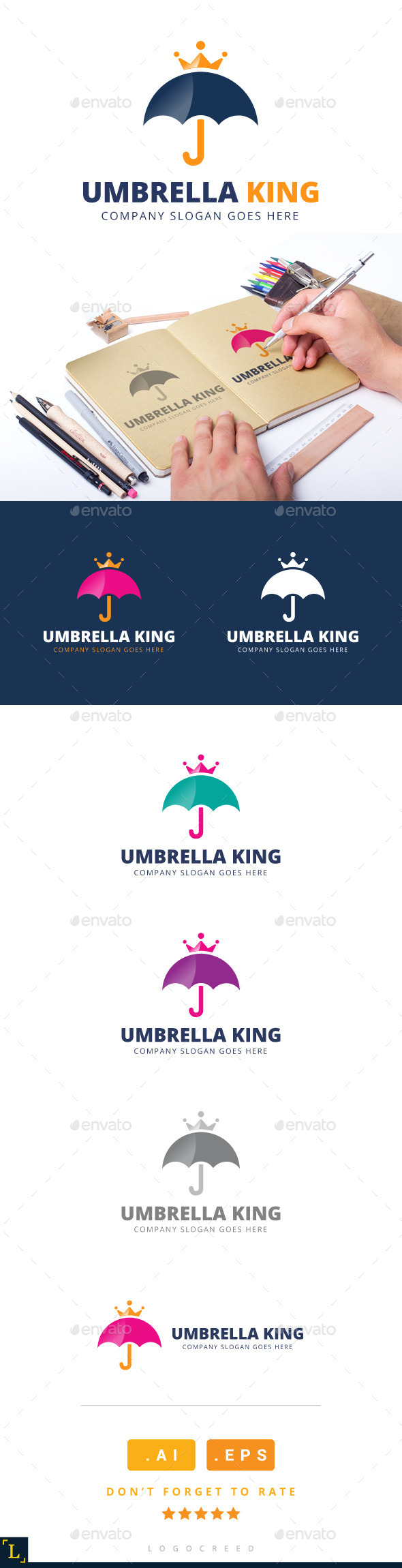 Royal Umbrella Logo - Logo Templates