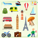 Travel Vector Icons - GraphicRiver Item for Sale