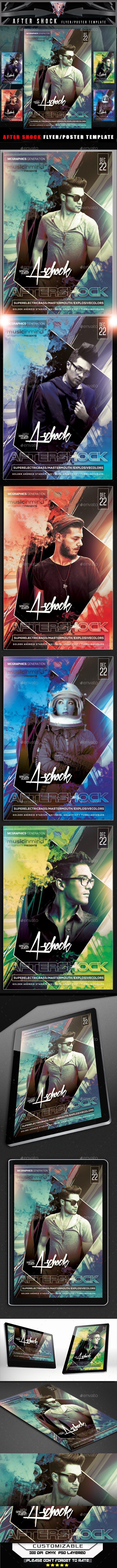 After Shock Flyer Template