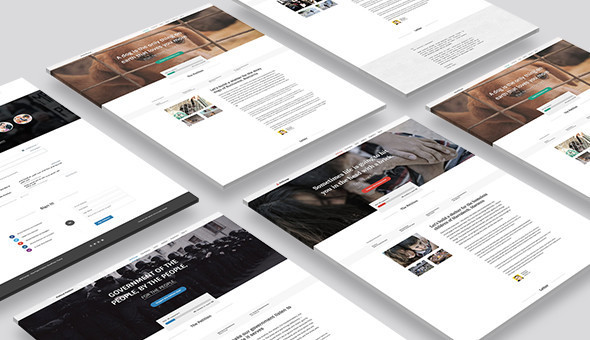 Petition WeChange – One Page WordPress Theme