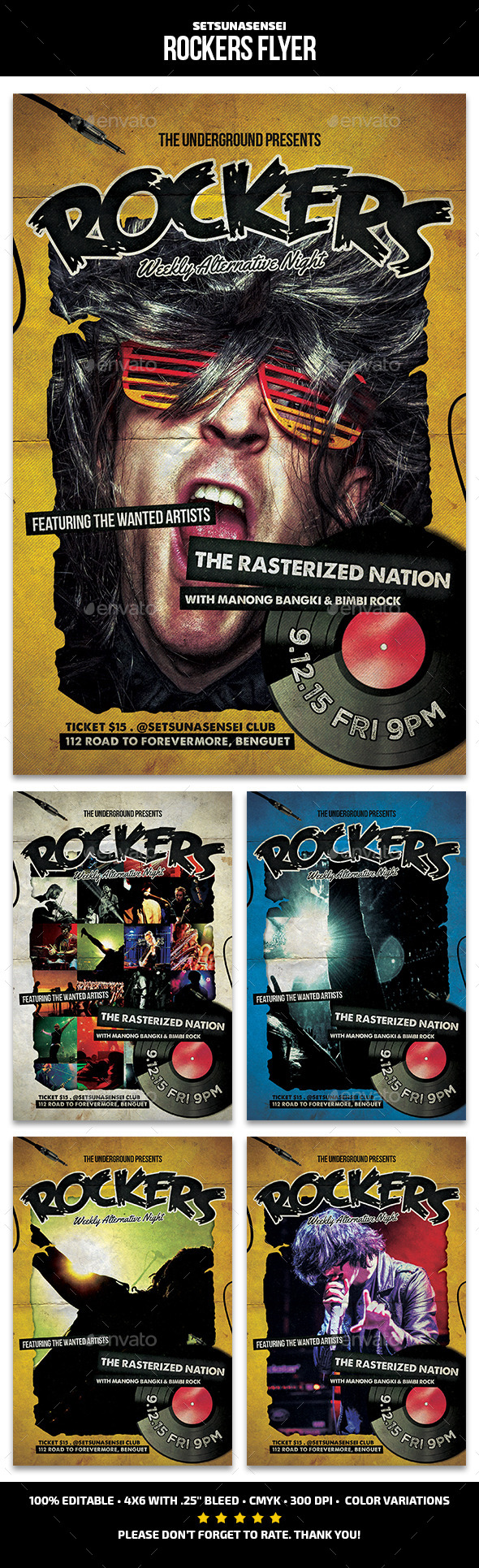 Rockers Flyer - Concerts Events